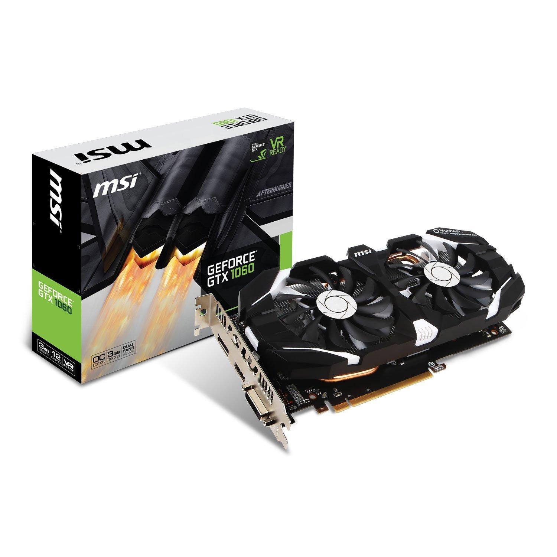 MSI Nvidia GeForce GTX 1060 3 GT OC 3GB