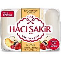 Hacı Şakir Klasik Meyve Tazeliği El ve Güzellik Sabunu 4x70 gr 1 Paket