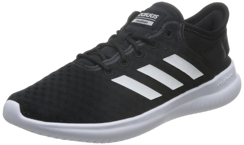 Schwarz(Negbas   Ftwbla   Negbas 000) adidas Damen Cf Qtflex W Fitnessschuhe, Schwarz
