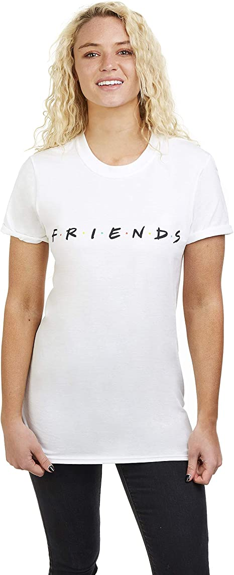 Friends Titles Camiseta para Mujer