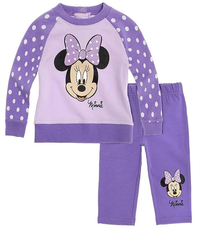 Disney Minnie Babies Chándal - malva - 3M: Amazon.es: Ropa y ...