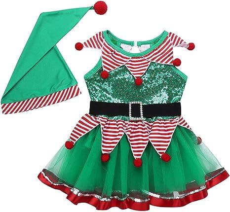 Freebily Conjunto de Navidad para Bebé Niña Recién Nacido Vestido ...