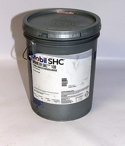 Amazon com : Mobil SHC Mobilith SHC 100 Lithium complex synthetic