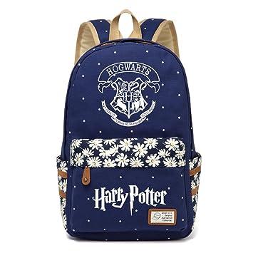 AUGYUESS Mochila de Lona para Escuela, Mochila, Mochila para Ordenador portátil, Mochila para Harry Potter Cosplay: Amazon.es: Electrónica