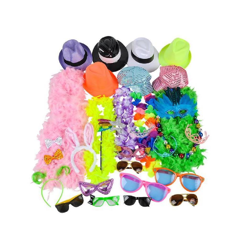 50 Pc Photobooth Prop Kit by Bargain World