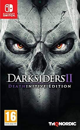 Darksiders 2 Deathinitive Edition - Nintendo Switch: Amazon co uk