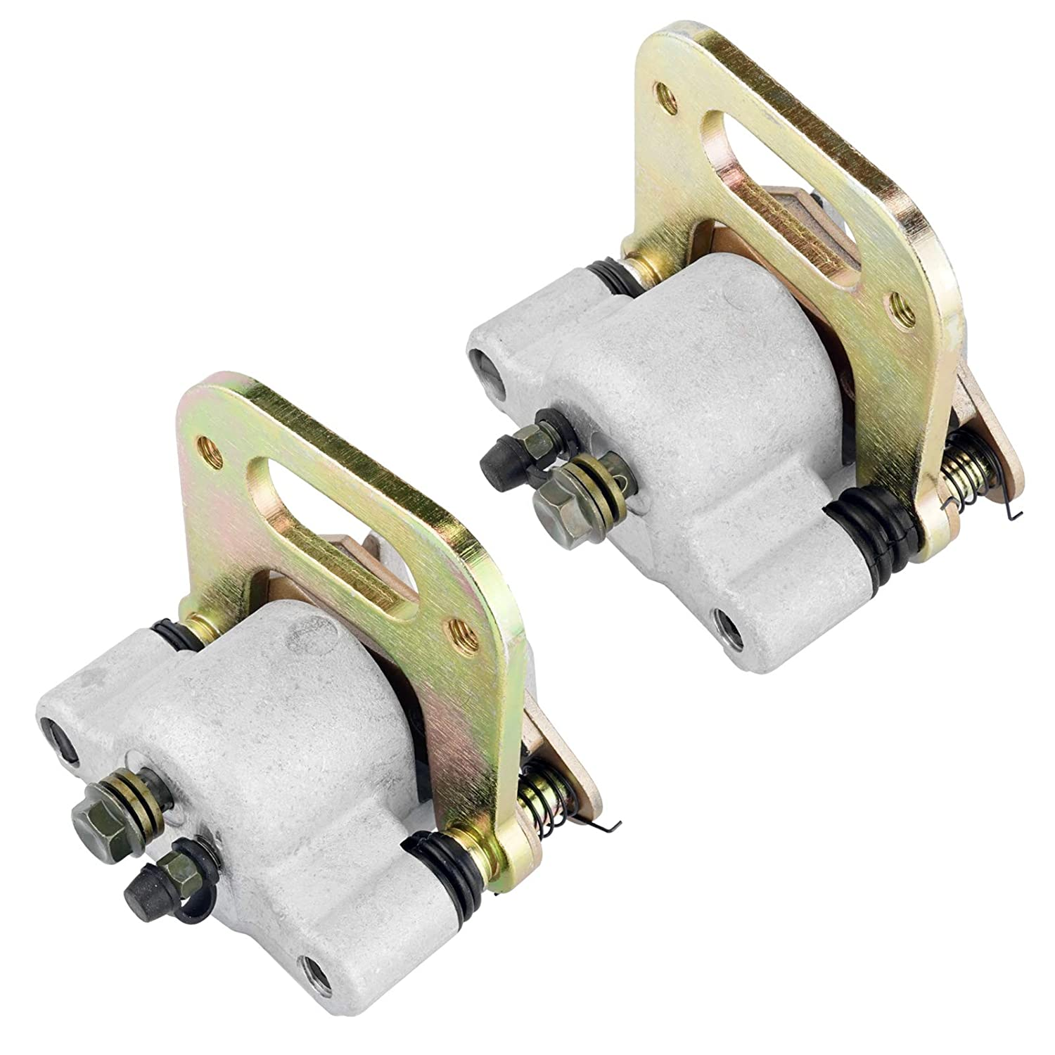 CALTRIC FRONT LEFT and RIGHT BRAKE CALIPER w//PADS FOR Polaris RANGER 500 6X6 1999