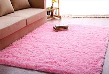 Amazon.com: Igirls Shaggy Daughter\'s Room!ultra Soft Area Rugs ...