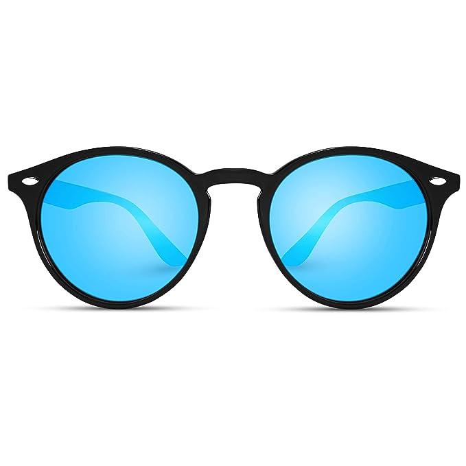 Amazon.com: WearMe Pro - lentes de sol redondos clá ...