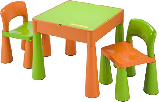 Liberty House LH899G Juego de mesa y 2 sillas infantiles, color ...