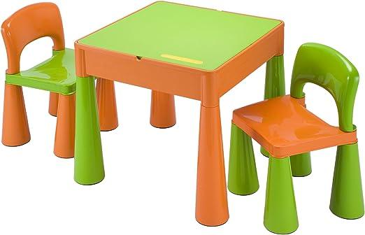 Liberty House LH899G Juego de mesa y 2 sillas infantiles, color ...