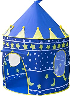 Matney Kids Playhouse Castle Tent u2014 Includes Portable Carry Bag and Foldable for Travel Indoor  sc 1 st  Amazon.com & Amazon.com: Luxury Townhouse Giant Play Tent by PlayHut: Toys u0026 Games