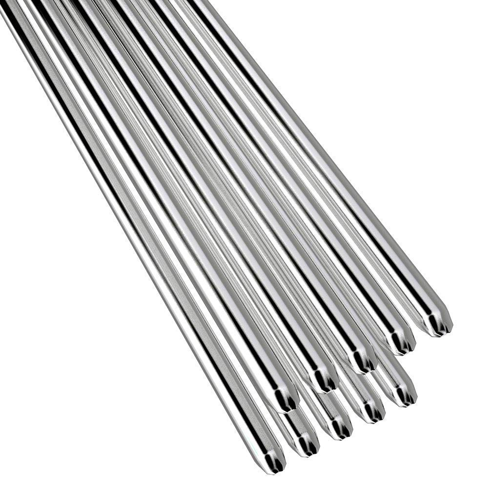 AeeKing Baguettes de soudage en aluminium faciles /à basse temp/érature 5 10 20 50Pcs 1.6Mm 2Mm Pas besoin de poudre de soudure 50Pc1.6Mm durables et utiles