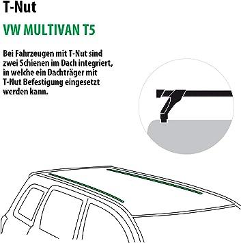 Rameder Komplettsatz Dachträger Wingbar Evo Für Vw Multivan T5 140864 04988 1 Auto