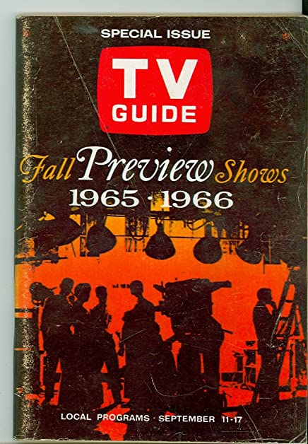 1965 TV Guide Sep 11 Fall Preview