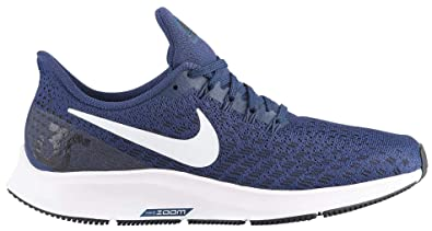 sale retailer f9421 2b30a Nike Women's Air Zoom Pegasus 35 Running Shoes (10 M US, Midnight  Navy/White/Black)