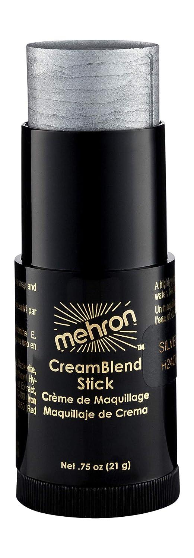 Mehron Makeup CreamBlend Stick (.75 oz) (Silver)