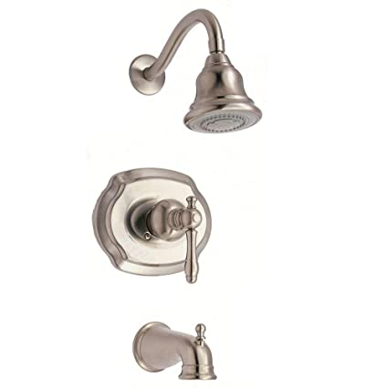 Glacier Bay Lyndhurst Watersense 1-handle Tub and Shower Faucet in ...