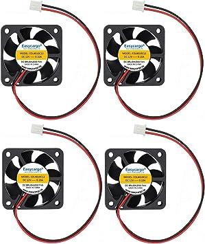 Easycargo - Ventilador para Impresora 3D, 12 V, sin escobillas ...