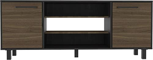 TUHOME Kaia Collection TV Stand Holds up to 65
