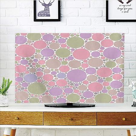 Funda para televisor LCD, Color Pastel, Gerbera Daisies Chamomiles ...