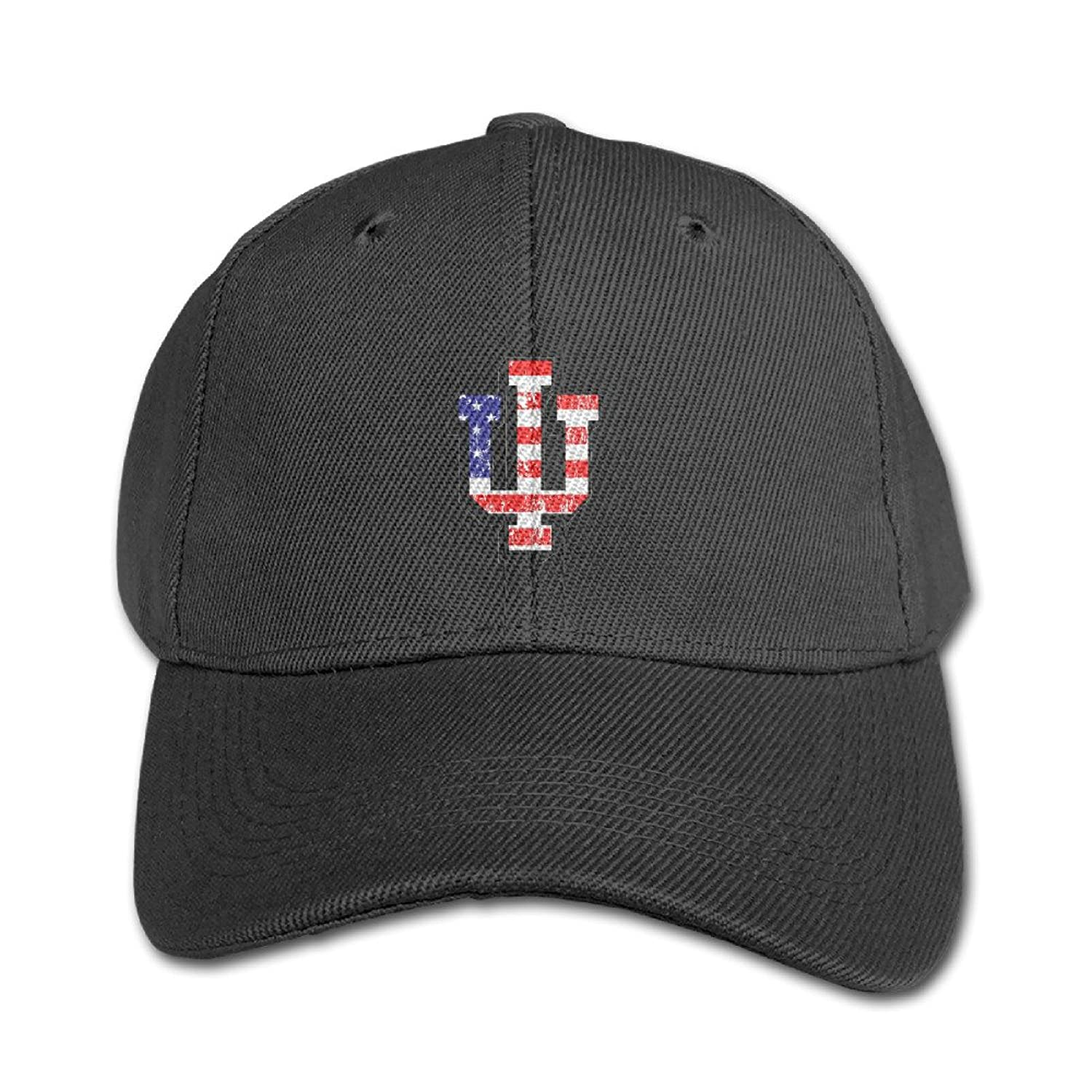 KIDDOS Little Boys' And Girls' University Indiana Bloomington Baseball Cap Sun Hat - Adjustable Hat Ash
