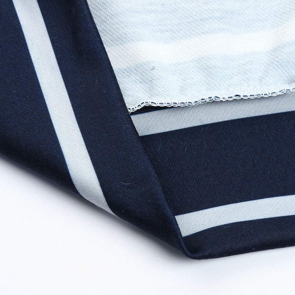 XS-2XL INTERESTPRINT Mens Hoodies Shirts Owls Snowflakes Lightweight Hooded T-Shirt