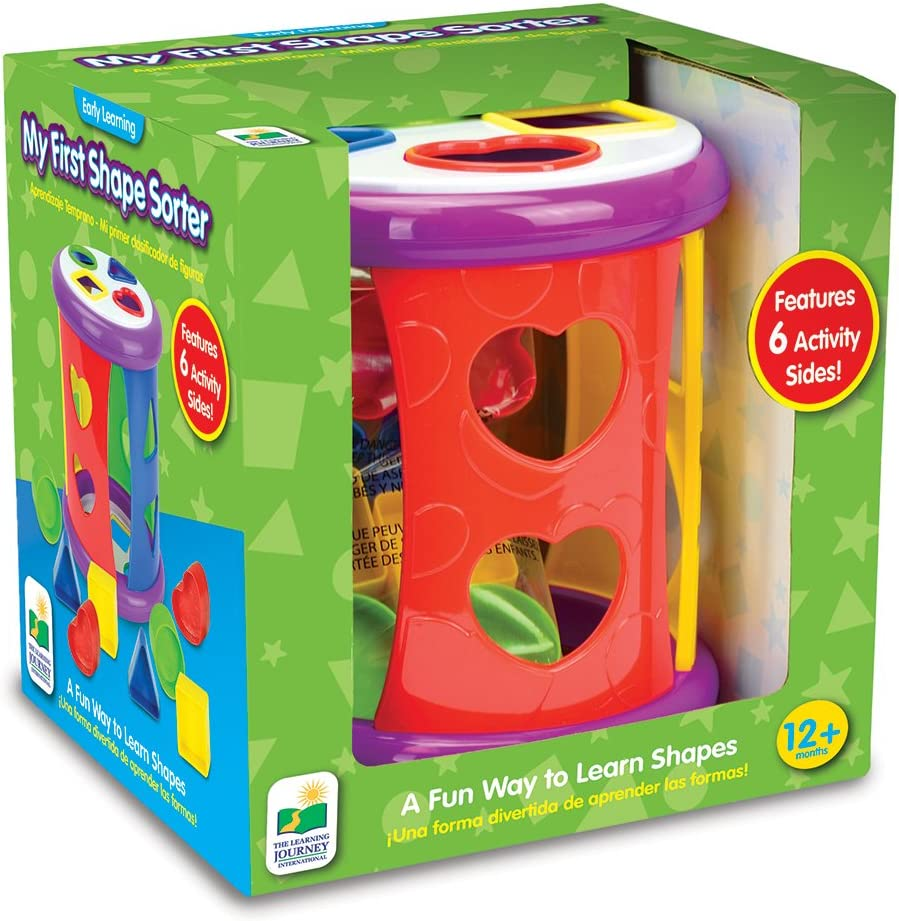 My First Shape Sorter The Learning Journey A Fun Way to Learn Shapes The Learning Journey International 193723