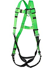 PeakWorks 1 D-Ring Contractor Series Fall Protection Full Body Safety Harness, CSA & ANSI Certified, Class A - Fall Arrest, V8002200