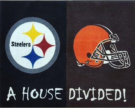 Pittsburgh Steelers Burlap Licensed NFL House Flag