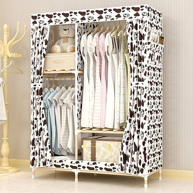 Amazon.com: XBZHYG - Armario de tela plegable, armario ...