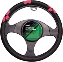With Black Anodised Center 3 Spoke in Black Leather Mountney M30M311B M Range Steering Wheel 300mm in Size