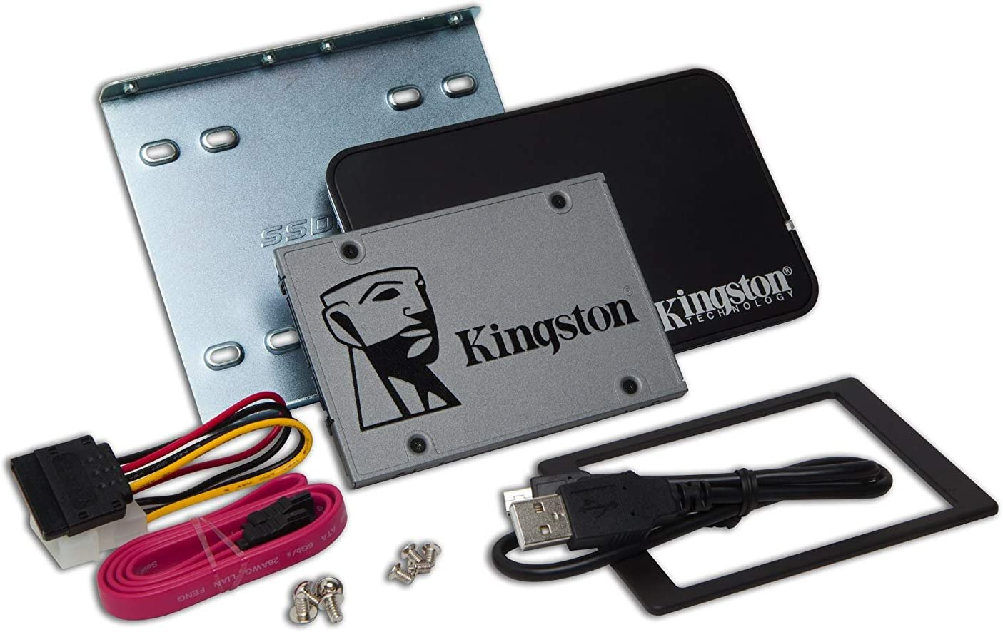 Kingston SUV500B/480G - Unidad de Disco Duro SSD 480 GB, con Kit ...