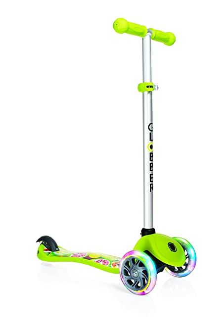 Amazon.com: Globber Primo Fantasy luces niños Scooter ...