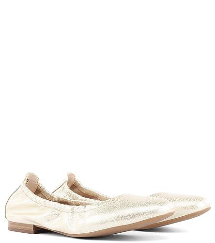 new concept a9dcf e1201 Peter Kaiser BELISA Gold Gr. 37,5: Amazon.de: Schuhe ...