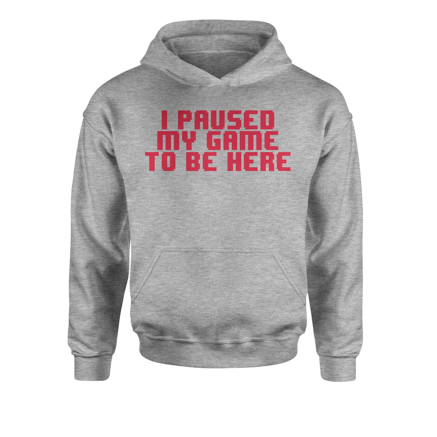 Expression Tees I Paused My Game to Be Here Youth-Sized Hoodie