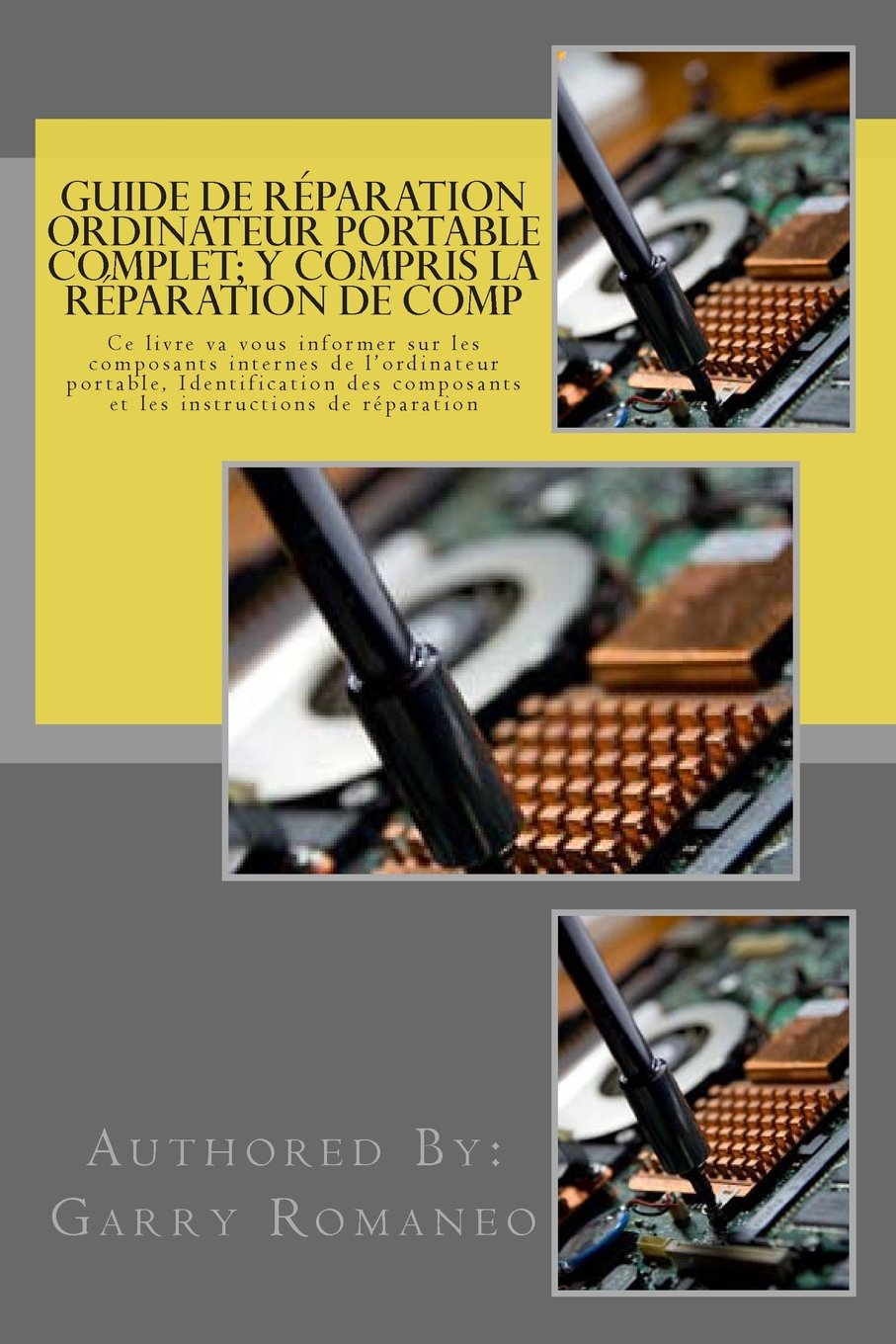 Guide de réparation ordinateur portable complet; y compris la réparation de comp: This Book Will Educate You On The Inner Components Of The Laptop, ... and Instruction for Repair (French Edition)