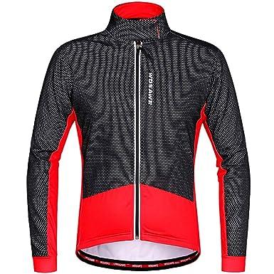 Hombre Ropa de Ciclismo Jersey de Ciclismo Abrigo de ...
