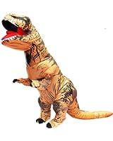 BIGPETS Inflatable Adult Dinosaur Costume T-Rex Cosplay Suit Fancy Dress Halloween