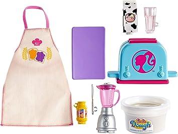 Amazon.es: Barbie pack de accesorio pasteleria y cocina, pack de ...