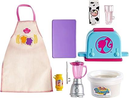 Barbie Kids Apron Purple