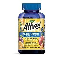 Nature's Way Alive! Men's Gummy Multi-Vitamin, 100 mg per serving, 60 Count