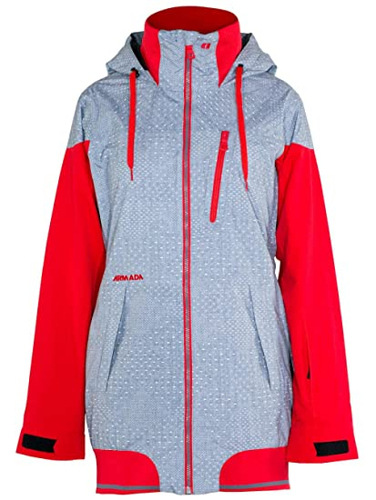 92bee210e Amazon.com : Armada Women's Gypsum: Ski Jacket (Chambray, Large ...