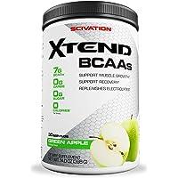 Scivation Xtend BCAA Powder, Green Apple, 90 Servings