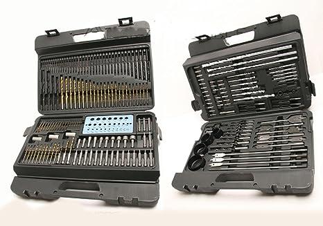 Multi-Function Drill Bit Driver, Btrice20Pcs Dual-Purpose High-Speed Steel Drill Bit DIY Tool Screwdriver Set Electric Drill Bit