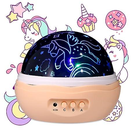 Regalo para niñas de 1 a 13 años, diseño de unicornio ...