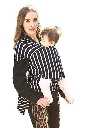 Echarpe de Portage pour Nouveau-Nés, Nourrissons et Tout-Petits Coton Doux  Premium e8246e872ff
