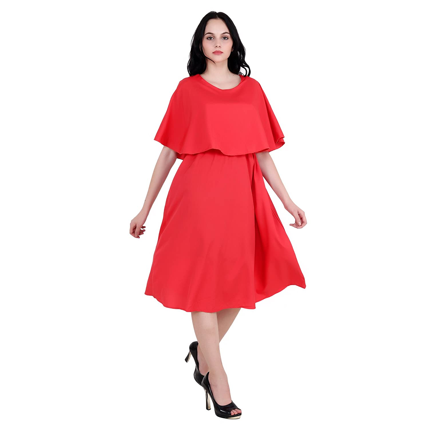 08eaa679b Chauhan Casual and Party on Knee Length Dress for Girl s and Women s ...