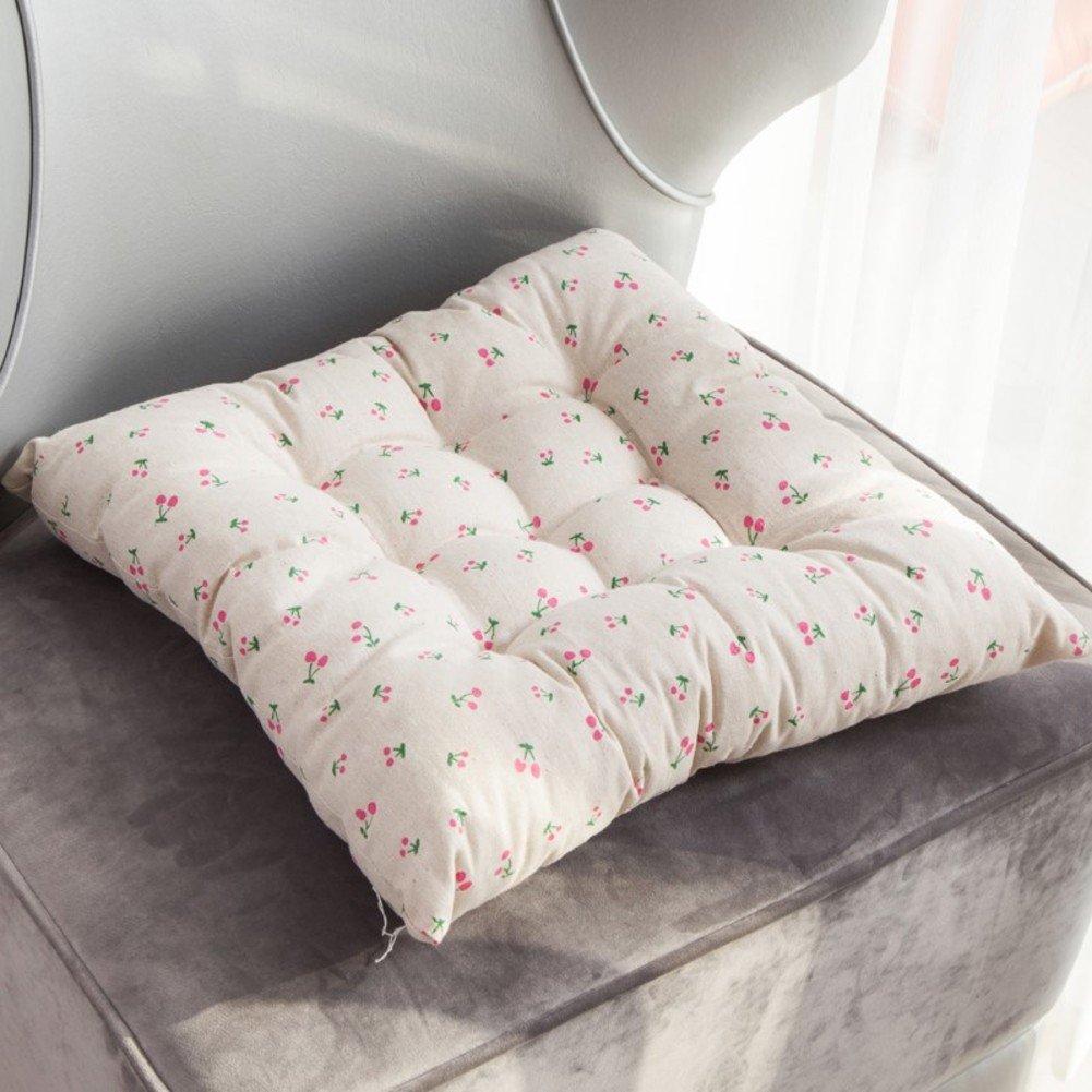 パッドThickedシートクッション、ヨーロピアンスタイルソリッド木製椅子クッション冬オフィスクッションカバー 60x60cm(24x24inch) QTQZ B07B6XLNZ1  G 60x60cm(24x24inch)