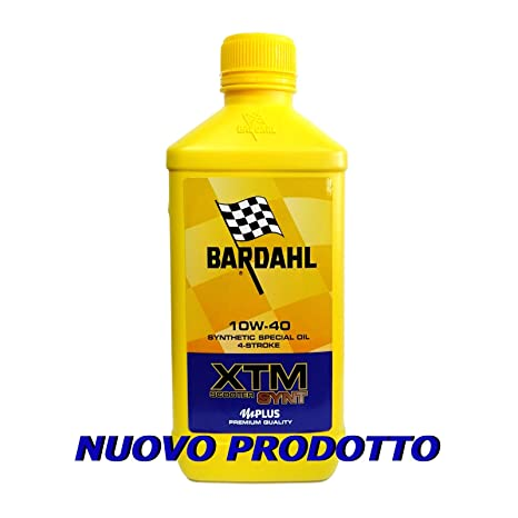 Aceite Motor Bardahl XTM Scooter synt 10 W40 4T – 1 Litro – Min.